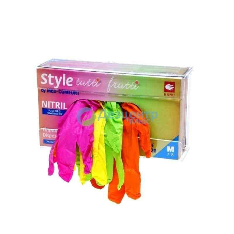 Перчатки STYLE TUTTI FRUTTI текстурированные, цветные (4,0 г)